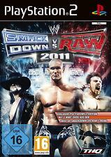 WWE SmackDown vs. Raw 2011 (Sony PlayStation 2, 2011, DVD-Box)