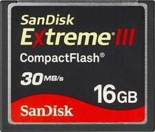 SANDISK Extreme III 16 GB 16gb CompactFlash CF I carta - (sdcfx 3016g)