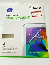 Belkin TrueClear Transparent Screen Protector - For Galaxy Tab 4 10.1 - 2 Pack