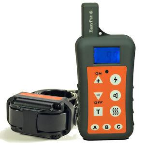 UK 1200m Waterproof Rechargeable Remote Sport Large Stubborn Dog Training Collar