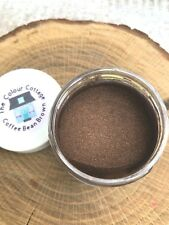 Mica Powder 1 oz Jar Coffee Bean Brown for Epoxy Resin, Cosmetics, Soap