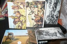 JOB LOT VICTORIAN WARS POSTCARDS OLD AND MODERN