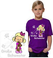 Kinder T-Shirt mit Motiv, Mädchen T-Shirt, Große Schwester, T-Shirt,GGS 2017 01