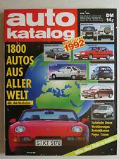 auto katalog Modelljahr 1992 Nr. 35 - Vereinigte Motor-Verlage GmbH, 302 Seiten