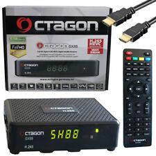 Octagon SX88 HD Receptor de Satélite Linux Multistream Plp Pls T2MI Blindscan