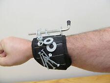 Magnetic Screw Tool Adjustable Wrist Arm Band 5 panel magnetic panel