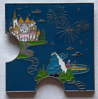 NEW Disney Loungefly Disneyland Resort 65th Anniversary Puzzle Pin A Small World