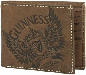 Guinness Wings Brown Leather Wallet (sg2539)