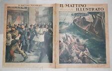 1940 Cacciatorpediniere Nullo Dimostrazione antibritannica ad Atene Antonescu di