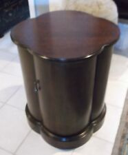 Hickory Chair Co. One Door Cherry Cylinder Table