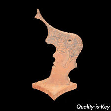 "Vtg 17"" Cast Iron Elvis Presley Head Statue Collectible Sculpture Rock & Roll"