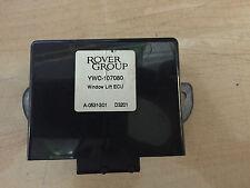 LAND ROVER FREELANDER ELECTRIC WINDOW LIFT ECU UNIT YWC107080 GENUINE  (2602)
