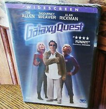 Galaxy Quest Dvd 2000 Widescreen ! New Sealed ! Free Shipping !
