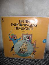 LP Vinyl Schallplatte Tim und Struppi selten rar Sammlung Sammlerstück 1974 alt
