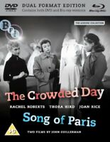 Nuovo The Crowded Giorno/Song Of Paris Blu-Ray + DVD