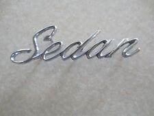 Original Cadillac Sedan car badge