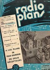 Revue Radio Plans - N° 28  -  Février 1950   - Postes récepteurs de Radio
