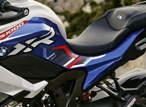 2 adesivi gel 3D laterali serbatoio moto compatibili BMW S1000XR sport 2020-2021