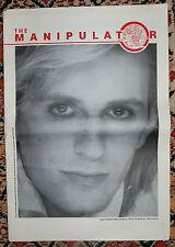 MAGAZINE THE MANIPULATOR N°3 1985 - DAVID BOWIE