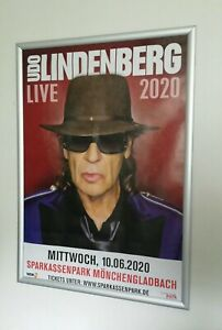 Udo Lindenberg Tour 2020 Poster Plakat 10.06.2020 Mönchengladbach A1 selten!!