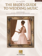 THE BRIDE'S GUIDE TO WEDDING MUSIC-2ND EDITION PIANO/VOCAL/GUITAR MUSIC BOOK-NEW