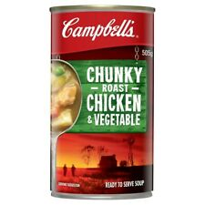 Campbell's Chunky Chicken Roast Vegetable Soup Can 505g