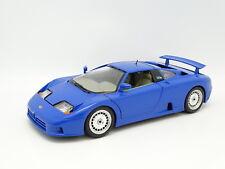 Burago SB 1/18 - Bugatti EB110 1991 Bleue