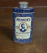 Vintage Mennen's Toilet Powder 4 oz Keepsake Tin
