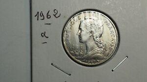 ÎLE DE LA RÉUNION 50 Francs 1962 Paris .TTB+