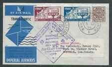 IMPERIAL AIRWAYS IRELAND 1939 FIRST FLIGHT TO NEW YORK NICE!