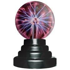 """Plasma Ball Lamp 3"""" Inch Sound and Touch Activated"""