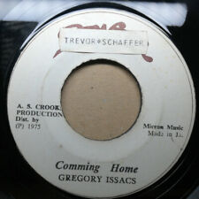 "GREGORY ISAACS~ ""Coming Home"" 1975 PIONEER REGGAE SOUL LOVERS 45 ♫ HEAR ♫"