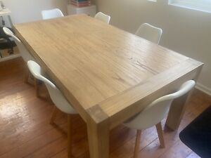 Dining or Office Table with 6 chairs for sale