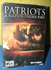 Patriots: A Nation Under Fire PC CD-ROM CIB