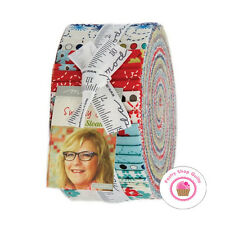 Moda SUNDAY DRIVE Pat Sloan JELLY ROLL 40 strips Quilt Fabric