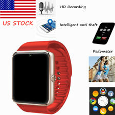 Smart Watch Wristband Camera MP3 Pedometer with SIM Card Slot for IOS Android