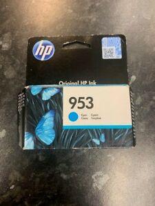 Genuine HP 953 Cyan Ink Cartridges For HP OfficeJet Pro - EXP DEC 2021