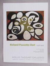 Richard Pousette-Dart Art Gallery Exhibit PRINT AD -- 2007