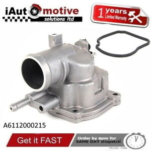 THERMOSTAT WITH HOUSING FOR MERCEDES C S V CLASS C200 C220 S320 V200 V220 CDI