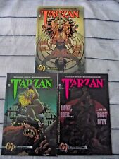 Tarzan Love, Lies and the Lost City #1, 2, 3 (complete) Malibu 1992 FN or better