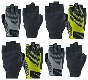 Nike Mens Weight Training Gloves Gym Support Grip Crossfit Training