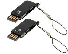 2 x Micro SD SDHC Kartenleser Kartenadapter USB-Stick USB-Hub Neu