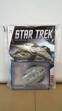 *#71 STAR TREK STARSHIPS COLLECTION GOROTH KLINGON TRANSPORT SHIP ENTERPRISE