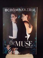 "BCBGMAXAZRIA ""THE MUSE"" CLOTHING CATALOG HOLIDAY 2015  Fashion  ADVERTISING  VG"