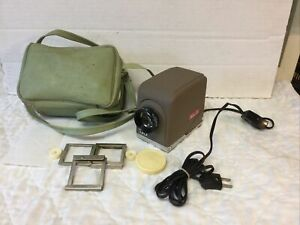 Vintage Minolta Mini 35 Slide Projector Complete Outfit & Near Mint Working Fine