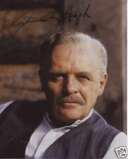 Anthony Hopkins Autograph Signed PP Photo Poster