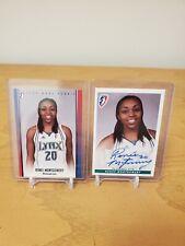 Lot Of 2 Renee Montgomery 2009 Wnba Rittenhouse Rookie Autograph & 416/499 Lynx