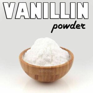 ˝˝NEW˝˝ VANILLIN POWDER- VANILLA FLAVOR - Suitable For Food Use - NO SUGAR!