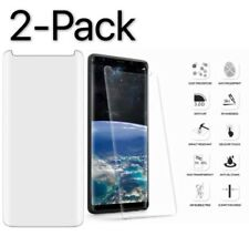 2Pack Case Friendly Tempered Glass Screen Protector Samsung Galaxy N9 S9 S8 Plus