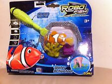 New Robo Fish Limited Edition Net , Coral and Fish Set